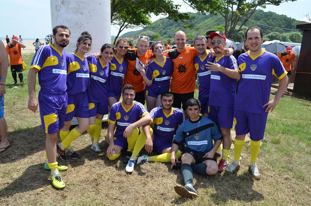 Çamur Futbolunda Dünya 2.'si Olduk!